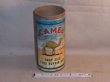 Vintage original 1946 CAMEL SHOP SIZE TUBE REPAIR KIT container great graphics