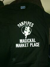 """FAMOUS *ORIGINAL* OCCULT STORE """"PANPIPES""""  T-SHIRT JERZEES  SMALL, MED, OR LARGE"""