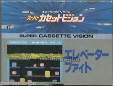 "EPOCH TV GAME SUPER CASSETTE VISION""ELEVATOR FIGHT""BRAND NEW"