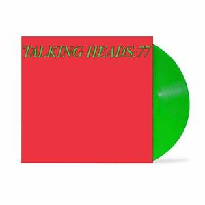 TALKING HEADS :  77 -  GREEN VINYL -  LIMITED/OUT OF PRINT  - LP   NEW/SEALED