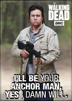 """The Walking Dead (TV Series) Photo Quality Magnet: Eugene """"I'll Be Your Anchor.."""