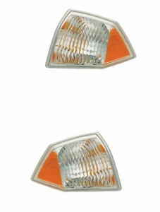 Brand New Pair (Left & Right) Corner Lights Fits 2007-2009 Jeep Compass