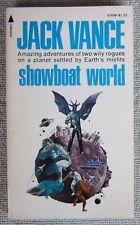 Showboat World (Big Planet #2) by Jack Vance PB 1st Pyramid V3698