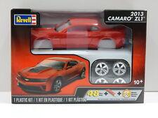 REVELL 85-4307 2013 CAMARO ZL1 Plastic Model Kit - Scale 1:25 Level 3 - 48 Parts