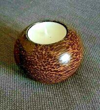 Wooden tealight holder
