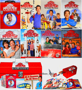 Home Improvement The 20th Anniversary Collection Complete Series 1-8 DVD Box Set