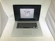 MacBook Pro Retina 15 Early 2013 ME664LL/A 2.4GHz i7 16GB 256GB Good Condition
