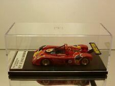 BBR FERRARI 333 SP.961 24h LM 1996 BELGIUM #17 - RED 1:43 - EXCELLENT IN BOX