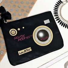 LUV Betsey Johnson Selfie Prep Kit Clutch, Purse, Bag  Retails $58  NWT