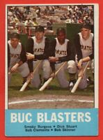 1963 Topps #18 Buc Blasters EX- Roberto Clemente Pittsburgh Pirates HOF FREE S/H