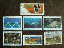Venezuela 7 Sondermarken von 1973/74, dabei Seerechtskonferenz kpl. postfrisch