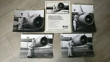 Photos Aviation / Adv Mobil Oil/Printing Analogue Original For Air France Boeing