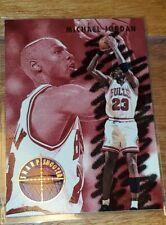 Michael Jordan 1993-94 Fleer Sharpshooter #3. Chicago Bulls. Read Description
