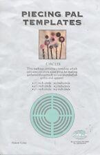 Piecing Pal template circles yo-yo maker gathered blossoms acrylic TC300