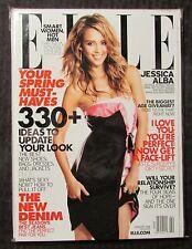 2008 Feb ELLE Magazine NM 9.4 Jessica Alba Cover