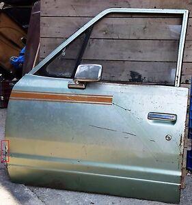Datsun / Nissan 720 1979-83 model front LH door Emtpy / Bare