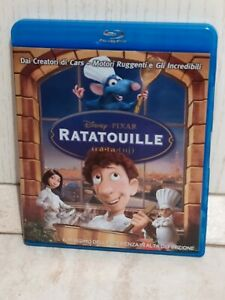 Ratatouille Disney Pixar Blu Ray Parigi Cucina Cartoni animati Animazione Film