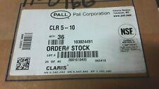 Pall Cartridge filter Clr-5-10 Case Lot of 36