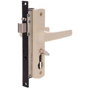 Security Door Lock-WHITCO TASMAN MK2 Screen W892119 -Primrose NO CYL-FREE POST