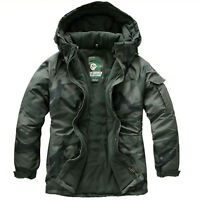 [K Shop]Southplay Mens Waterproof New Wood Khaki Military Ski-Snowboard Jacket