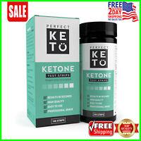 Perfect Keto Ketone Testing Strips: Test Ketosis Levels on Low Carb...