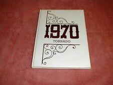 1970 Texline High School Yearbook, Texline, Texas, Tornado
