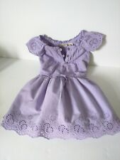 NEW Kid Girl Spring Summer Dress//Shirt Lilac Braces Skirt Dressy SZ 2-8 Years Z3