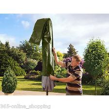 NUOVA Grande Verde Impermeabile Parasol/Ombrello Copertura Mobili da Giardino 190 cm UK