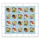 USPS New Coral Reefs Pane of 20 Postcard Stamps <br/> Buy with confidence: Official Postal Store on eBay