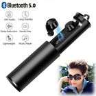 Wireless Earphones Stereo Headset with Microphone for iPhone Samsung Galaxy LG