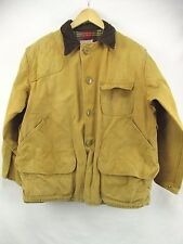 WesternField Montgomery Ward Tan Cotton Upland Hunting Jacket Coat Men's M H5