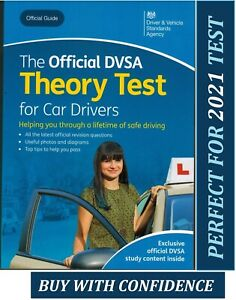 The official DSA driving theory test book for car drivers 2021 DVSA  *ThryB UK