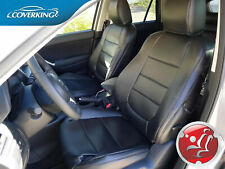 Premium Leatherette Slip-On Tailored Front Seat Covers for Mazda CX-5