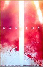 SON LUX Bones 2015 Ltd Ed RARE New Poster +FREE Dance/Indie/Rock/Pop Poster