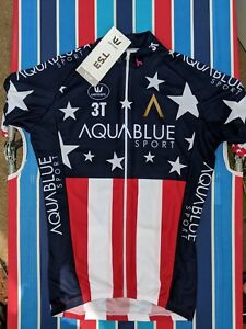 U.S. National Champion's Jersey, Vermarc, Aquablue, Larry Warbasse Edition