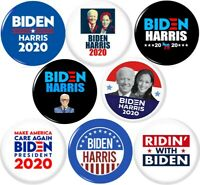 Joe Biden Kamala Harris #2 2020 8 NEW 1 Inch 25mm Pinback Buttons Badge Pins BLM