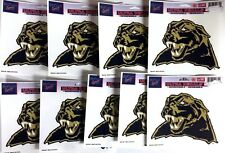 """Lot of 9 Officially Licensed 5 1/2"""" x 4 1/4"""" Ultra Decals PITT PANTHERS"""