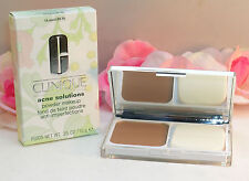 New Clinique Acne Solutions Powder Face Makeup #18 Sand M-N .35 oz /10 g Full Sz