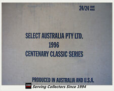1996 Select AFL Classic Metal Trading Card Factory Case (24 Boxes x 24 Packs)