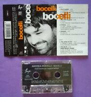 MC Musicassetta ANDREA BOCELLI Bocelli ITALY pop classical 1995 no cd lp dvd vhs