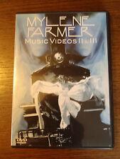 DVD MYLENE FARMER MUSIC VIDEOS II ET III  2000
