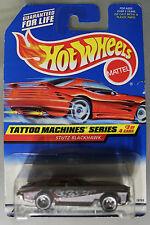Hot Wheels 1:64 Scale 1997 Tattoo Machines Series STUTZ BLACKHAWK