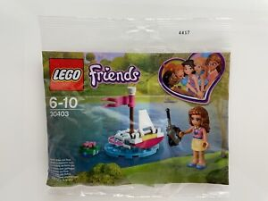 LEGO 30403 - Friends Oliva's Remote Boat / New Polly Bag