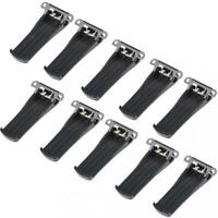 10X Belt Clip Replacement for BaoFeng BF-666s 777S 888s Walkie Talkie Radio