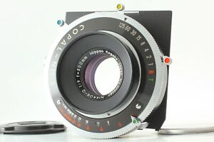 【N MINT 】 Nikon Nikkor Q 300mm f/9 COPAL No.3 Large Format Lens From JAPAN