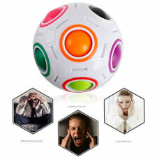 Cube Puzzle Twist Toy Magic Creative Ball Shaped Rainbow Spherical Adult Kids Z