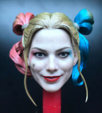 """1/6 Scale Harley Quinn Head Sculpt for 12"""" Action Figure"""