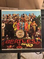 BEATLES SGT. PEPPERS LONELY HEARTS CLUB BAND VINTAGE VINYL No Cut Outs SMAS 2653