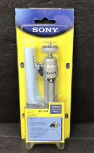 Sony VCT-MTK Tripod Travel Kit For Handycam Cyber-Shot Mavica With Pouch New