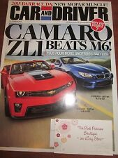 CAR AND DRIVER AUTO MAGAZINE OCTOBER 2012 CAMARO ZL1 BRAND NEW